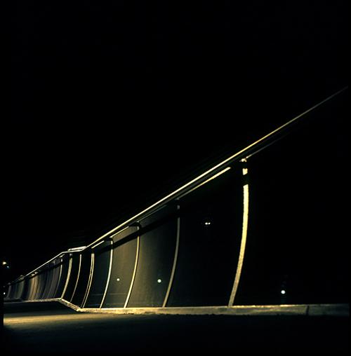 Abstract light night