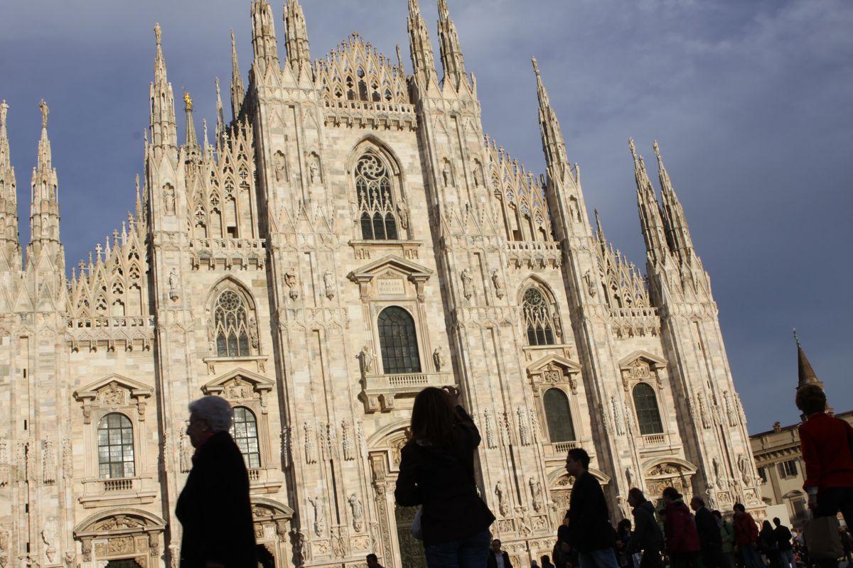 Milano, Duomo, 27 Marzo 2010