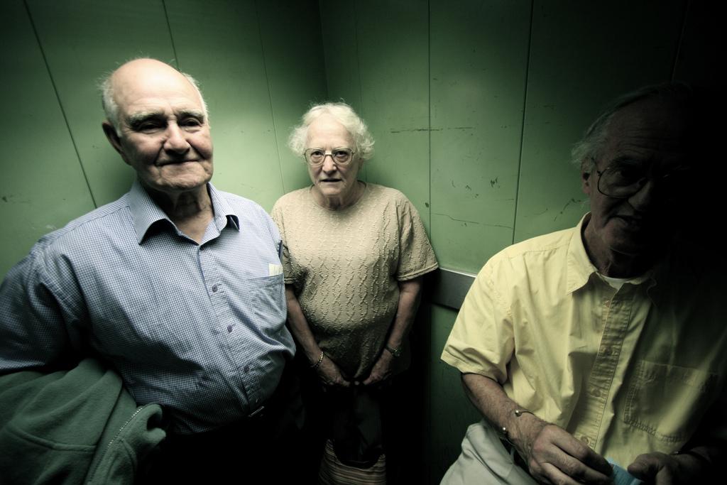 Elevator Grandma