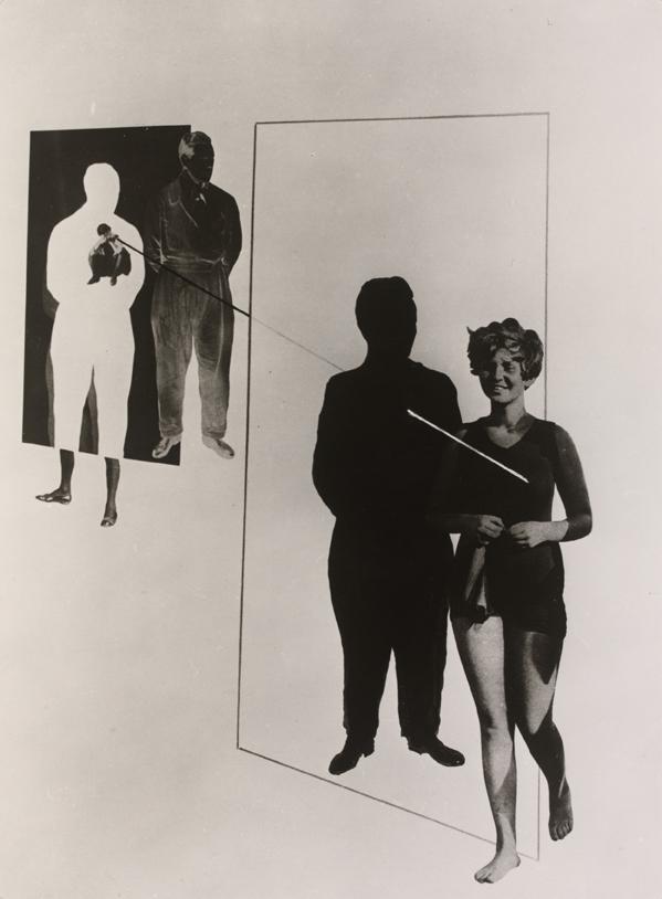 Moholy-Nagy László Jealousy (1924-27) Photoplastic. Victoria&Albert Museum, London. ©Hattula Moholy-Nagy/VEGAP 2011
