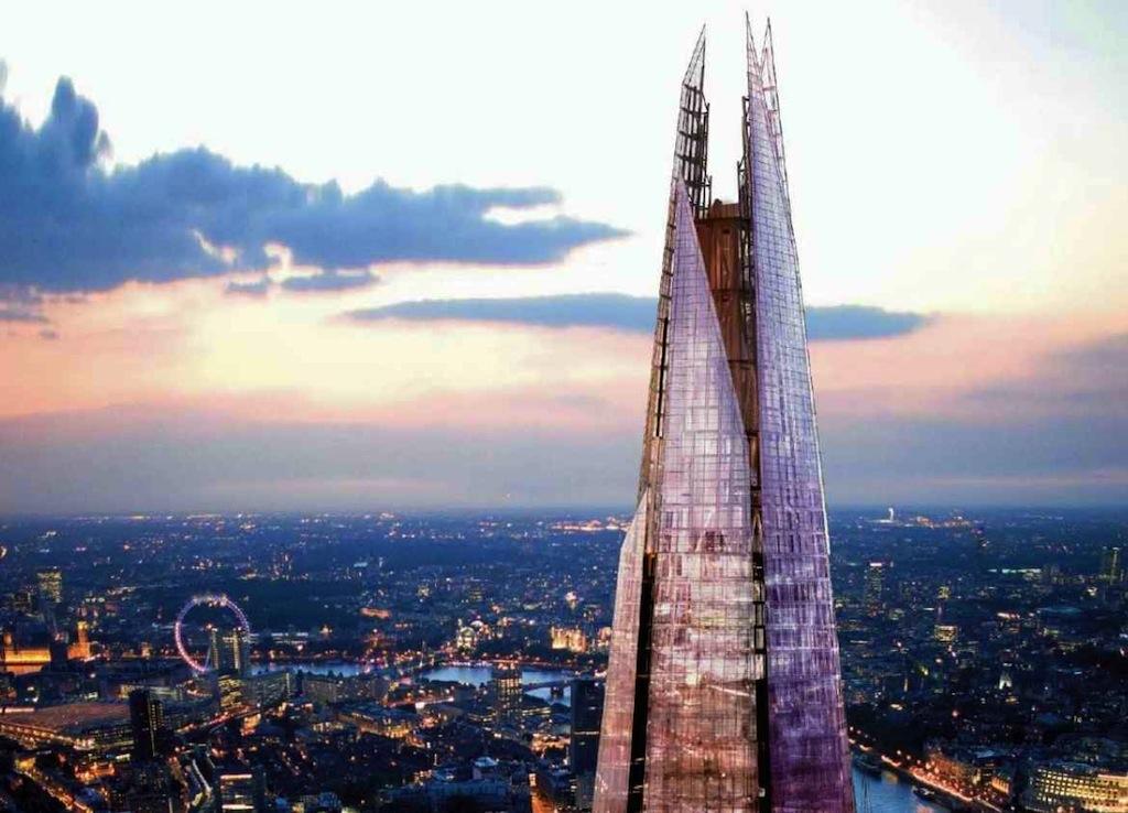 Renzo Piano S Shard The New Inhabintant Of London S Sky