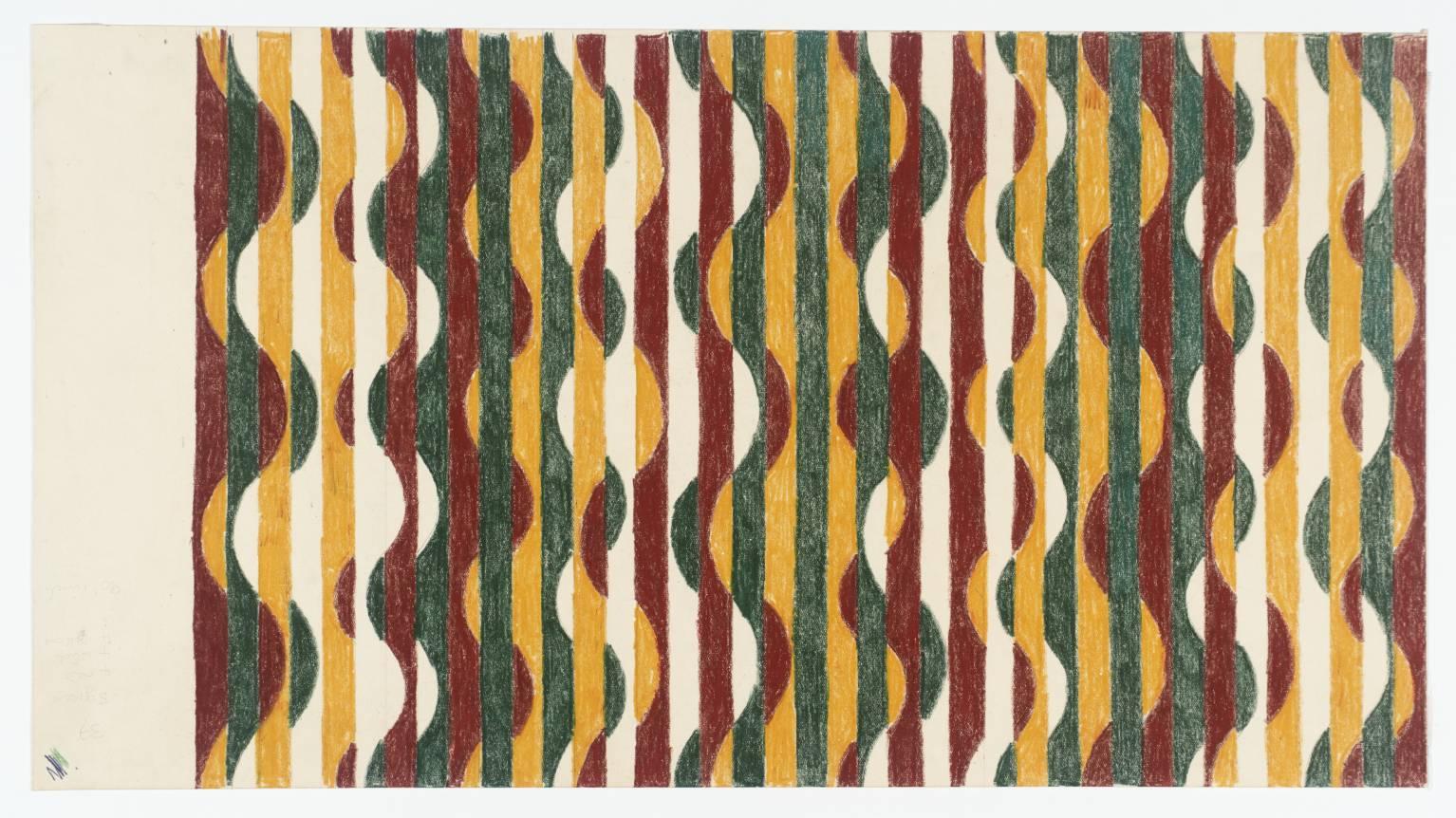 Axion Study ,1965, Michael Kidner, flowersgallery