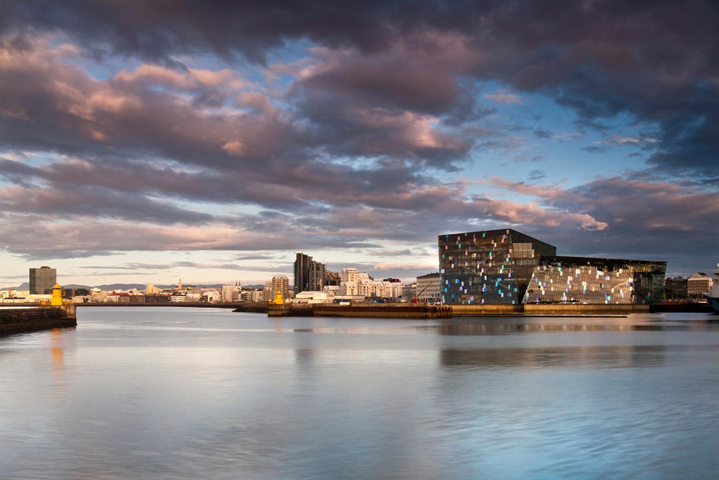 Harpa - Reykjavik Concert Hall & Conference Centre, Reykjavik, Iceland; Batteríid