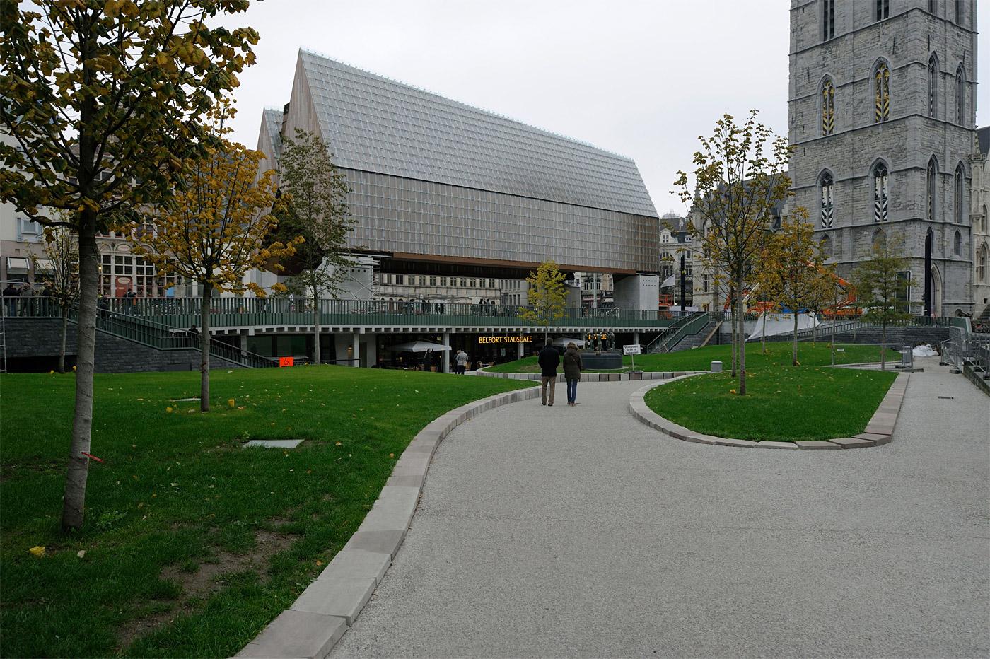 City Hall, Ghent, Belgium; Robbrecht en Daem architecten; Marie-José Van Hee architecten