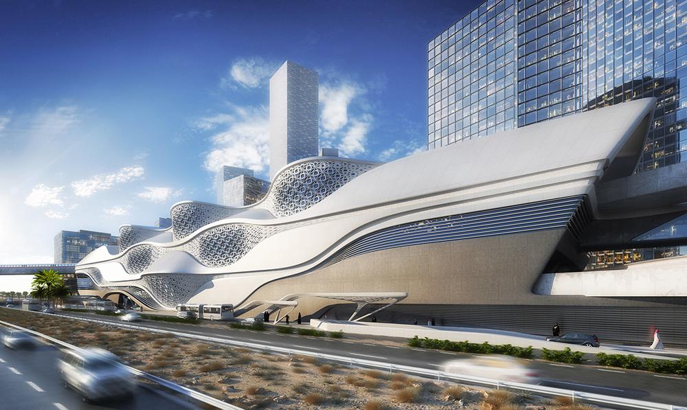 519513f7b3fc4bcd1600000b_zaha-hadid-architects-selected-to-design-the-king-abdullah-financial-district-metro-station-in-saudi-arabia-_kafd_metro_statio