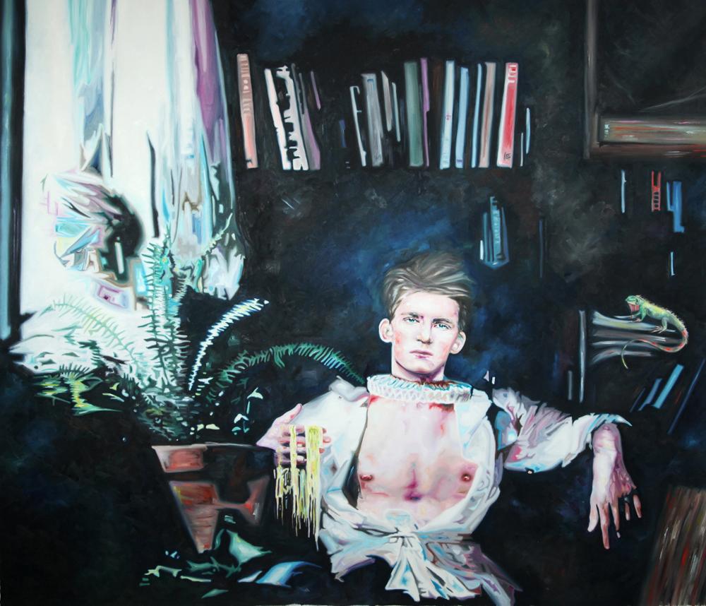Arthur, oil on canvas, 170x190 cm, 2010