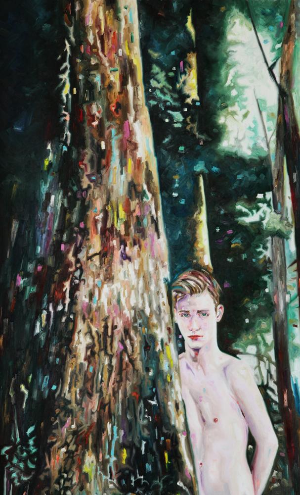 Barnum, oil on canvas, 138x85 cm, 2013