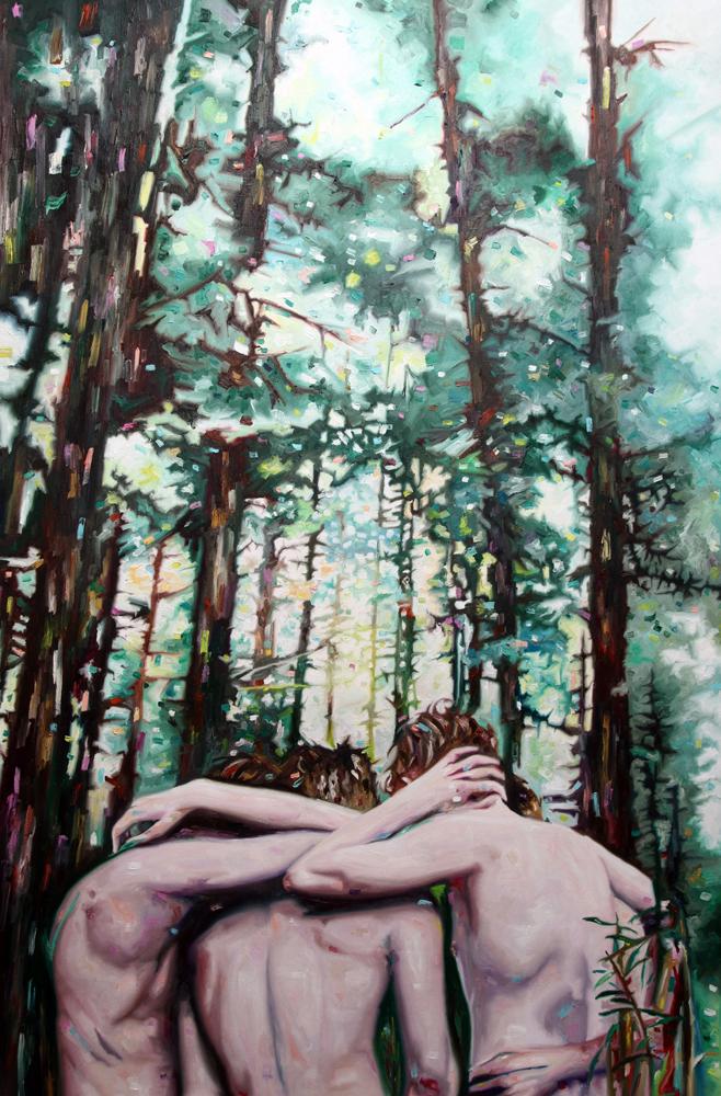 Elsewhere, oil on canvas, 170x112 cm, 2013