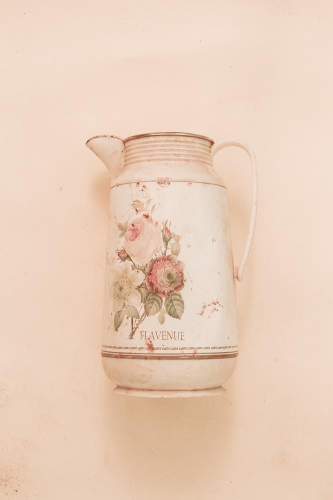 A teapot, found among the Rana Plaza debris