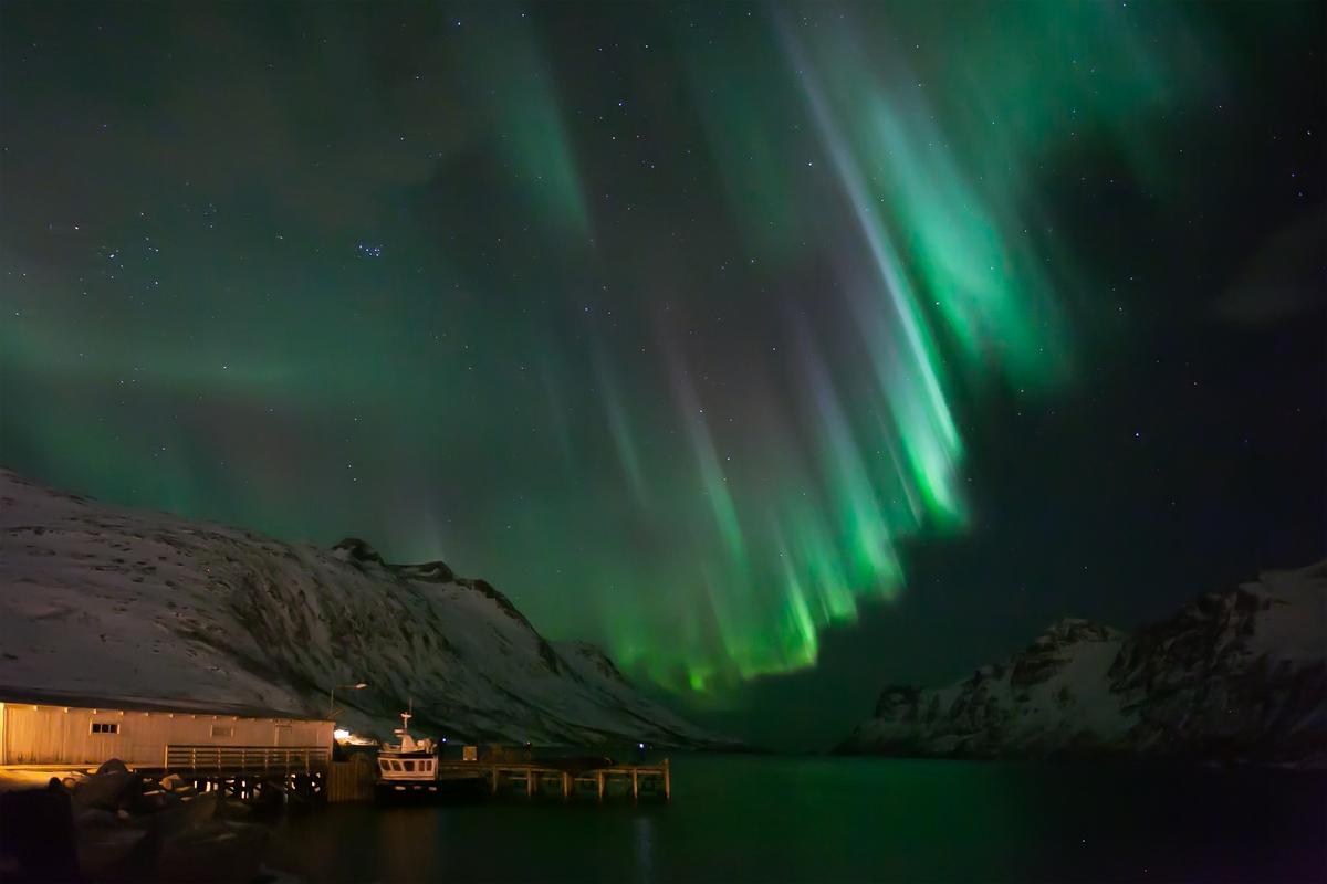 Coronal Aurora, Tromso, Norway