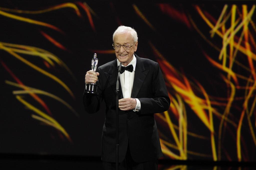 Sir Michael Caine (EUROPÄISCHER FILMPREIS /European Film Award KATEGORIE HONORARY AWARD) 28th EUROPEAN FILM AWARDS im Haus der Berliner Festspiele in Berlin am 12.12.2015 Agency People Image (c.) Michael Tinnefeld